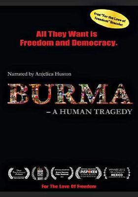 Burma: A Human Tragedy (DVD - Brand New) ** Free Shipping on 5