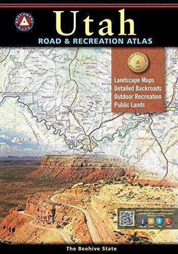 3Utah Road & Recreation Atlas, by Benchmark Maps
