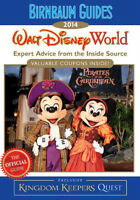 2 perfect condition Walt Disney World (Florida) 2014 guide books