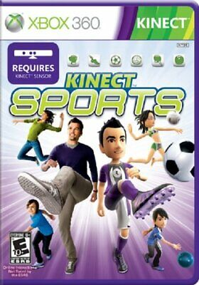 Kinect Sports XBOX 360! BOWLING, TABLE TENNIS, BOXING, SOCCER, VOLLEYBALL, TRACK, used for sale  Shipping to Nigeria