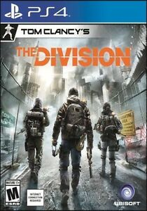 The Division - Tom Clancy / PS4