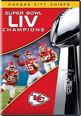 PREORDER MAR 10 SUPER BOWL LIV 54 CHAMPIONS KANSAS CITY CHIEFS New Sealed DVD