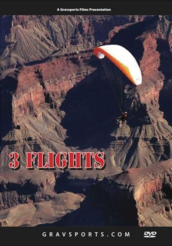Paragliding DVD - Three Flights by Will Gadd: Records and Realizations