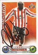 Signed Sunderland Match Attax
