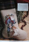 Cross Stitch Christmas Stocking