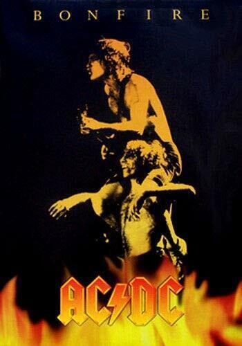 AC/DC BONFIRE POSTER NEW  !