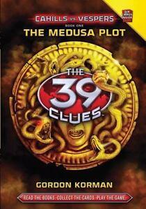 The 39 Clues Cahills vs  Vespers: The Medusa Plot 1 by Gordon Korman (2011,  Hardcover)