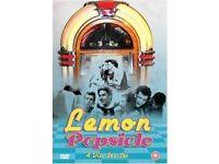 LEMON POPSICLE 1-4 ALL REGIONS (PAL) UK DVD BOX SET-RARE