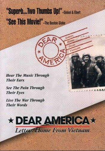 Dear America: Letters Home From Vietnam (2005, REGION 1 DVD New)