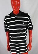 Polo Ralph Lauren White Black Stripes