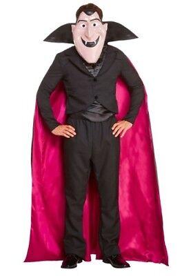 Hotel Transylvania Dracula Costume (ADULT HOTEL TRANSYLVANIA COUNT DRACULA VAMPIRE COSTUME SIZE M (with)