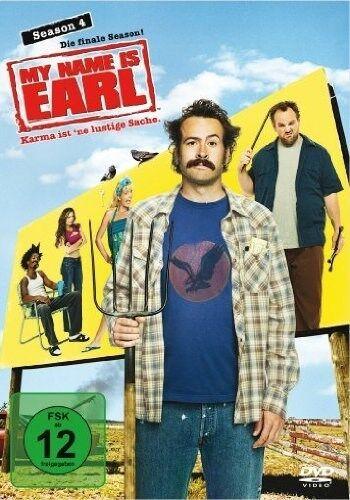 MY NAME IS EARL Season 4 (4 DVDs) Jason Lee +TOP+ OVP