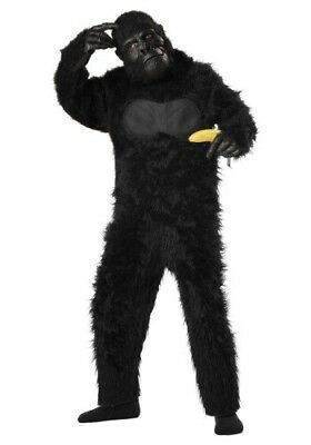 CHILD DELUXE GORILLA COSTUME SIZE LARGE 10-12 (missing - Baby Gorilla Costume