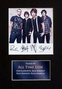 All Time Low Signed