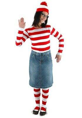 Waldo Costume Girl (Wenda Female Wheres Waldo)