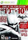 Batman: Arkham City Microsoft Xbox 360 Video Games