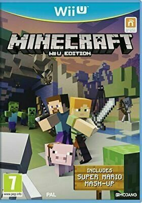 Wii U - Minecraft Wii U Edition - Same Day Dispatched - Boxed - VGC
