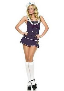 SAILOR GIRL Navy Costume Size 8-10 BNWT FREE EXPRESS POST Madora Bay Mandurah Area Preview