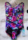 Seafolly Nylon Floral One-Piece Swimwear for Women