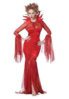 Devil Diva Costume (SEXY HOT DEVIL DIVA ADULT HALLOWEEN Costume Size Woman's Small 6-8 NEW)