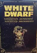 White Dwarf Miniature