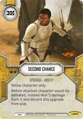 X2 Second Chance 137 Uncommon Star Wars Destiny Awakenings M/NM - $4.80