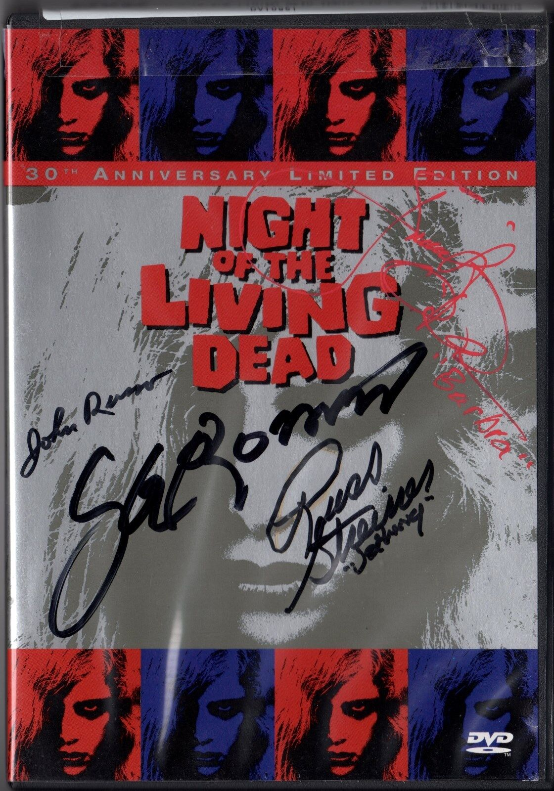 Night of the Living Dead 30th Anniversary Limited Edition DVD set SIGNED BY FOUR