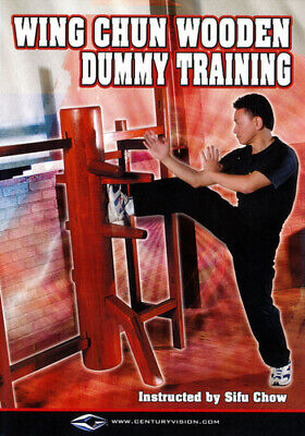 Wing Chun Wooden Dummy Training Fighting Techniques [Used Very Good DVD]