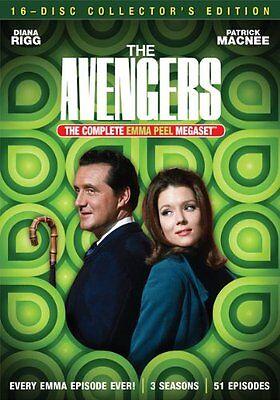 The Avengers Complete Emma Peel Mega set DVD Collection Season TV Show Lot Box