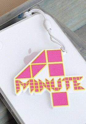 NEW Cute Korean Kpop Band 4MINUTE Cellphone Dust Plug Cover Charm Hyuna Sohyun