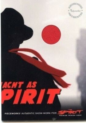 THE SPIRIT Gabriel Macht Red Tie Pieceworks Worn Material Costume PW.12B RARE](The Spirit Costume)