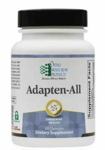 Ortho Molecular Adapten-All 60 Capsules Exp. 2/21 FREE SHIP