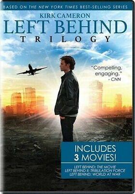 LEFT BEHIND TRILOGY New DVD Kirk Cameron 1 2 3 Tribulation Force World at War