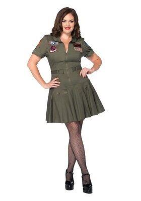 Top Gun Flight Dress Womens Costume ](Flight Dress Costume)