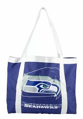 Seattle Seahawks Tailgate Canvas Tote Shoulder Bag Purse NFL Nfl Canvas Tailgate Tote