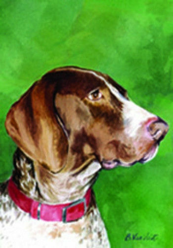 German Shorthaired Pointer Decorative House Flag 20049