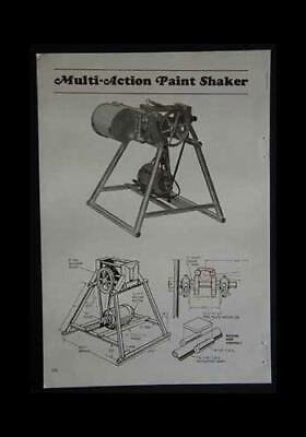 1 Gallon Paint Shaker How-to Build Plans Dual Action