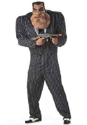 Adult Mens Massive Mobster Halloween Costume Size Large 42-44