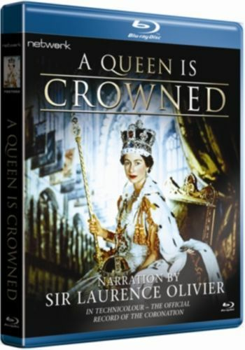 Blu ray A QUEEN IS CROWNED. Elizabeth II. Brand new sealed.
