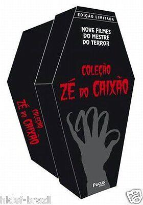 DVD Ze do Caixao Zé do Caixão Ed Limitada / Coffin Joe Limited Edition [9-Movie] comprar usado  Brazil