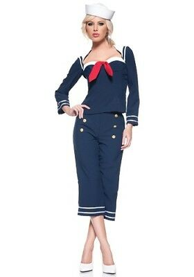USED WOMENS SHIP MATE COSTUME SIZE LARGE