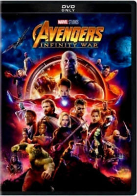 Avengers  Infinity War  Dvd 2018  New  Action  Adventure  Pre Order Ships 08 14