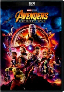 Avengers: Infinity War (DVD,2018) NEW* Action, Adventure* PRE-ORDER SHIPS 08/14