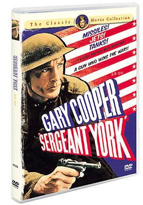 Sergeant York  1941  Gary Cooper  Walter Brennan Dvd  New