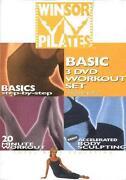 Winsor Pilates 3 DVD Workout Set