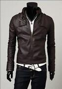 Mens PU Leather