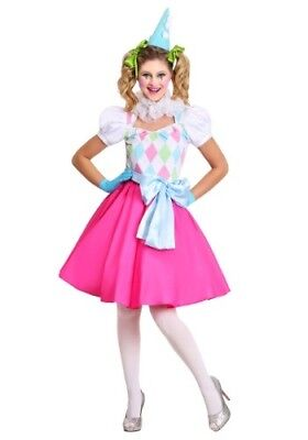 COTTON CANDY CLOWN WOMEN'S COSTUME SIZE S (missing - Candy Costumes For Women