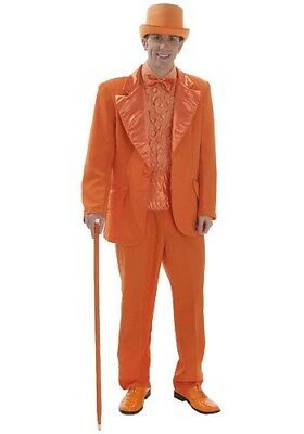 Orange Tuxedo Dumb & Dumber Costume Suit USED S, M, L, XL & 2X Clemson Bengals (Dumb And Dumber Suit)