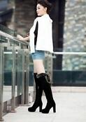 Womens Winter High Heel Boots