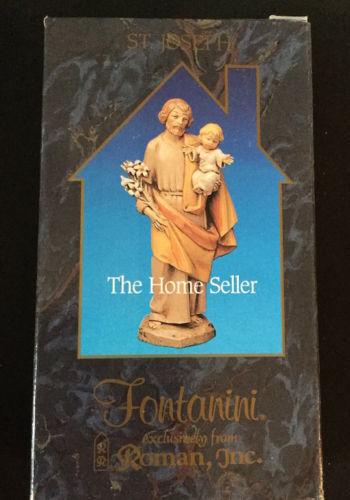 SAINT JOSEPH THE HOME SELLER # 45047 FONTANINI 5 inch HEIRLOOM NATIVITY